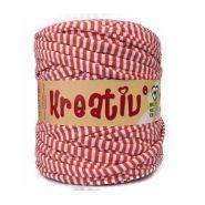 Butika.hu hobby webáruház - Kreatív pamut pólófonal, nagy gombolyag, sárga, Kreativ-401