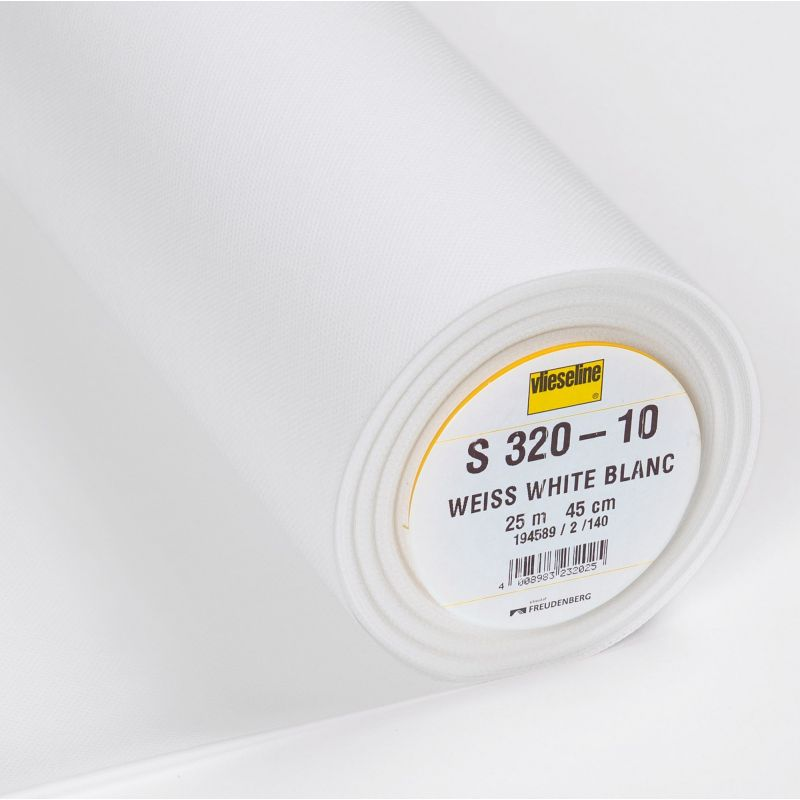 Butika.hu hobby webáruház - Vlieseline S320 táskamerevítő, ragasztós tartásjavító közbélés - 45cm széles, ár/0,5m
