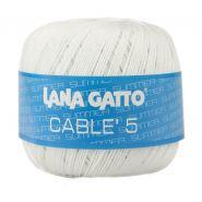 Butika.hu hobby webáruház - Lana Gatto - Cable5 kötő/horgoló fonal, egyiptomi pamut, 50g, 6575