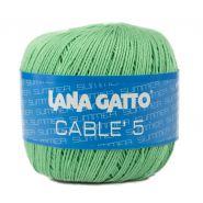 Butika.hu hobby webáruház - Lana Gatto - Cable5 kötő/horgoló fonal, egyiptomi pamut, 50g, 7825