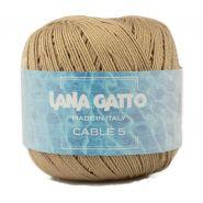 Butika.hu hobby webáruház - Lana Gatto - Cable5 kötő/horgoló fonal, egyiptomi pamut, 50g, 6579