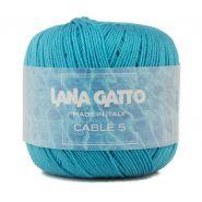 Butika.hu hobby webáruház - Lana Gatto - Cable5 kötő/horgoló fonal, egyiptomi pamut, 50g, 6549