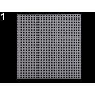 Butika.hu hobby webáruház - Műanyag kanavász / hímzőháló, négyzet, 14cm, 750980