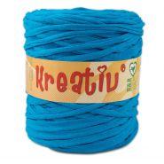 Butika.hu hobby webáruház - Kreatív pamut pólófonal, nagy gombolyag, kék, Kreativ-522