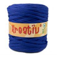 Butika.hu hobby webáruház - Kreatív pamut pólófonal, nagy gombolyag, kék, Kreativ-524