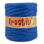 Butika.hu hobby webáruház - Kreatív pamut pólófonal, nagy gombolyag, kék, Kreativ-532