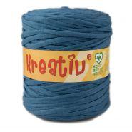 Butika.hu hobby webáruház - Kreatív pamut pólófonal, nagy gombolyag, kék, Kreativ-538