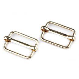 Butika.hu hobby webáruház - Fém mozgócsúszó szett, 20mm, 10db, 730187 - arany