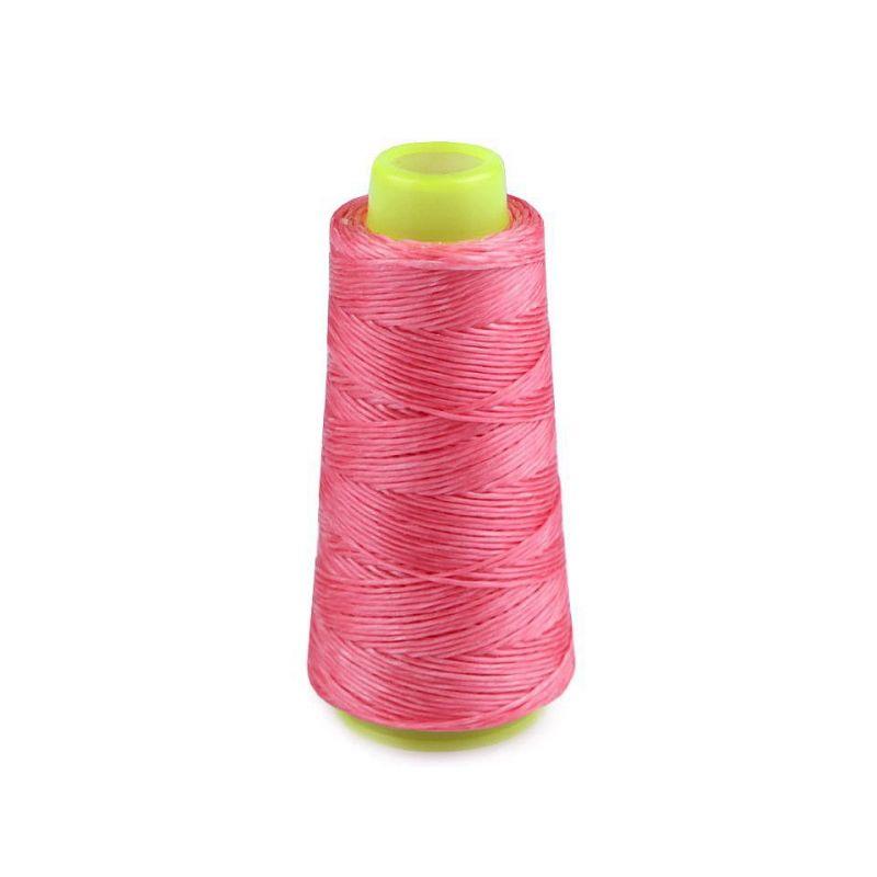 Butika.hu hobby webáruház - Viaszos poliészter cérna, extra erős, 1mm, 100m, rózsaszín, 240045