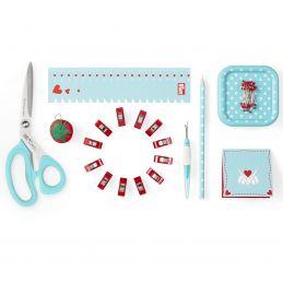 """Butika.hu hobby webáruház - Kezdő varrókészlet - Prym Love starter set """"sewing"""", 651222, menta"""