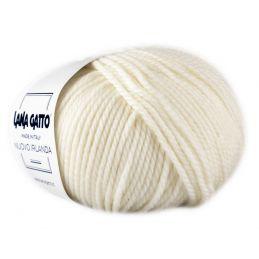 Butika.hu hobby webáruház - Lana Gatto, Nuovo Irlanda kötő fonal, 100% tiszta merinó - 978, Naturale