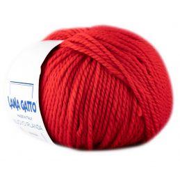 Butika.hu hobby webáruház - Lana Gatto, Nuovo Irlanda kötő fonal, 100% tiszta merinó - 642, piros