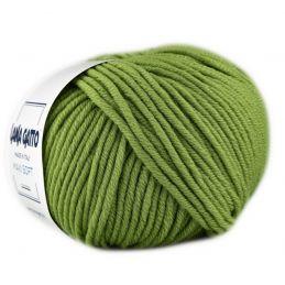 Butika.hu hobby webáruház - Lana Gatto Maxi Soft kötőfonal, extrafinom merinó gyapjú - 13277, Verde