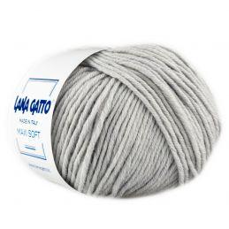 Butika.hu hobby webáruház - Lana Gatto Maxi Soft kötőfonal, extrafinom merinó gyapjú - 20439, Grigio perla