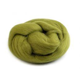 Butika.hu hobby webáruház - Fésült újzélandi merinó gyapjú nemezeléshez, 20g - türkiz, 17