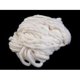 Butika.hu hobby webáruház - Bellezza Bulky, extra vastag gyapjú és akril kötőfonal, 250g, - fehér
