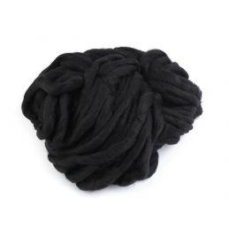 Butika.hu hobby webáruház - Bellezza Bulky, extra vastag gyapjú és akril kötőfonal, 250g - fekete