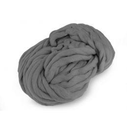 Butika.hu hobby webáruház - Bellezza Bulky, extra vastag gyapjú és akril kötőfonal, 250g - szürke