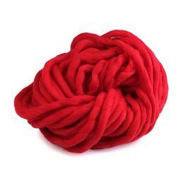 Butika.hu hobby webáruház - Bellezza Bulky, extra vastag gyapjú és akril kötőfonal, 250g - piros
