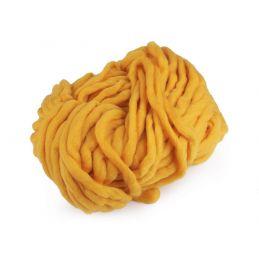 Butika.hu hobby webáruház - Bellezza Bulky, extra vastag gyapjú és akril kötőfonal, 250g - mustár