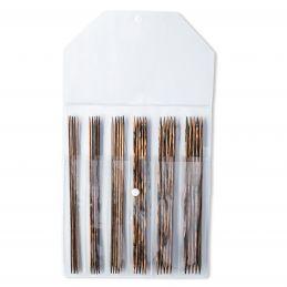 Butika.hu hobby webáruház - Prym KnitPro, fa zokni/harisnya kötőtű készlet - 6 méret, 223805
