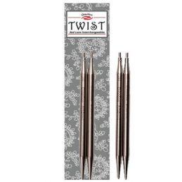 Butika.hu hobby webáruház - ChiaoGoo Twist kötőtű vég, 10cm,  2,5mm - Mini, CG7504-2,5