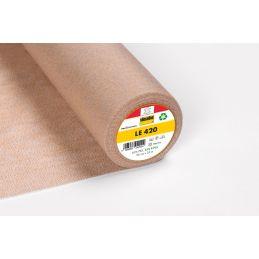 Butika.hu hobby webáruház - Vlieseline LE420 bevasalható közbélés bőrhöz, 90cm széles - ár/ 0.5m