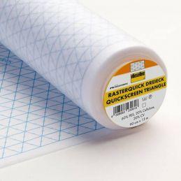 Butika.hu hobby webáruház - Vlieseline Rasterquick, háromszöges varrást segítő közbélés 90cm, 0,5m/ár
