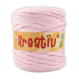 Butika.hu hobby webáruház - Kreatív pamut pólófonal, nagy gombolyag, babarózsaszín, Kreativ-604