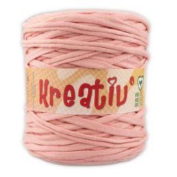 Butika.hu hobby webáruház - Kreatív pamut pólófonal, nagy gombolyag, középrózsaszín, Kreativ-608