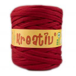 Butika.hu hobby webáruház - Kreatív pamut pólófonal, nagy gombolyag, bordó, Kreativ-614