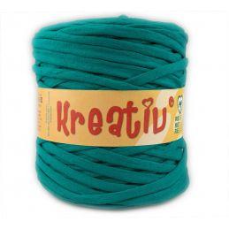 Butika.hu hobby webáruház - Kreatív pamut pólófonal, nagy gombolyag, smaragdzöld, Kreativ-620