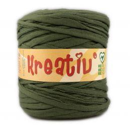 Butika.hu hobby webáruház - Kreatív pamut pólófonal, nagy gombolyag, méregzöld, Kreativ-621