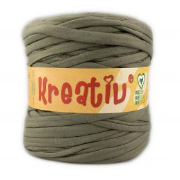 Butika.hu hobby webáruház - Kreatív pamut pólófonal, nagy gombolyag, military zöld, Kreativ-622