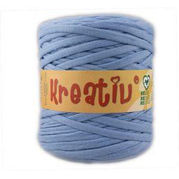 Butika.hu hobby webáruház - Kreatív pamut pólófonal, nagy gombolyag, égszínkék, Kreativ-624