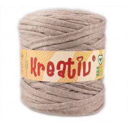Butika.hu hobby webáruház - Kreatív pamut pólófonal, nagy gombolyag, homok, Kreativ-632