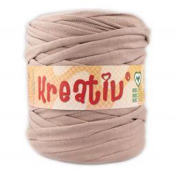 Butika.hu hobby webáruház - Kreatív pamut pólófonal, nagy gombolyag, tejeskávé, Kreativ-633