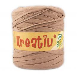 Butika.hu hobby webáruház - Kreatív pamut pólófonal, nagy gombolyag, sötét bézs, Kreativ-634