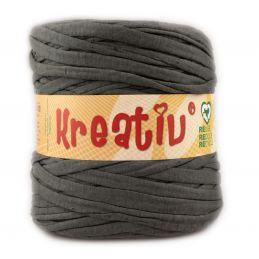 Butika.hu hobby webáruház - Kreatív pamut pólófonal, nagy gombolyag, egér szürke, Kreativ-641
