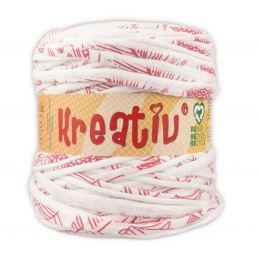 Butika.hu hobby webáruház - Kreatív pamut pólófonal, nagy gombolyag, mintás, Kreativ-651
