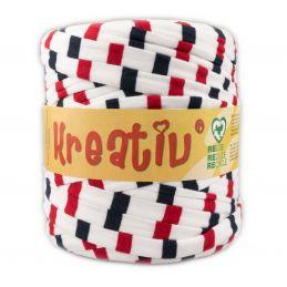 Butika.hu hobby webáruház - Kreatív pamut pólófonal, nagy gombolyag, mintás, Kreativ-664