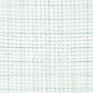 Butika.hu hobby webáruház - Zweigart Aida hímző vászon, 8 öltés/cm, 110cmx0.5m, fehér rácshálós, 3472/1219