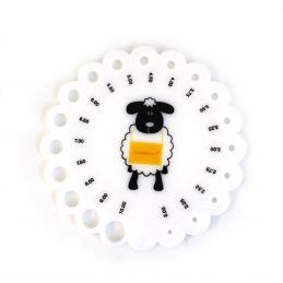 Butika.hu hobby webáruház - Scheepjes báránykás kötőtű mérce, 0025-10