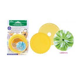 Butika.hu hobby webáruház - Clover extra nagy yo-yo készítő sablon, 60mm - CL8703
