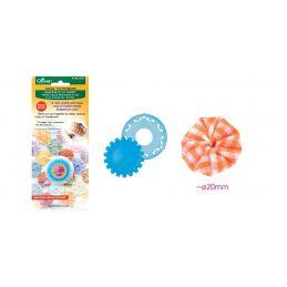 Butika.hu hobby webáruház - Clover extra kicsi yo-yo készítő sablon, 20mm - CL8702