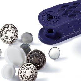 D félkarika, 25mm, nikkel, 10db, 730182