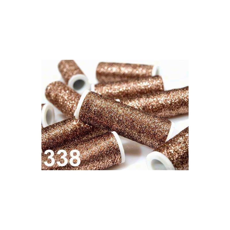 Butika.hu hobby webáruház - Metalux hímzőcérna, 60m, Henna 338, 520023