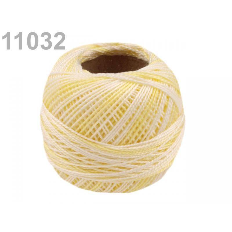 Butika.hu hobby webáruház - Hímzőcérna Cotton Perle Nitarna - policolor, 290019, 11032, sunlight