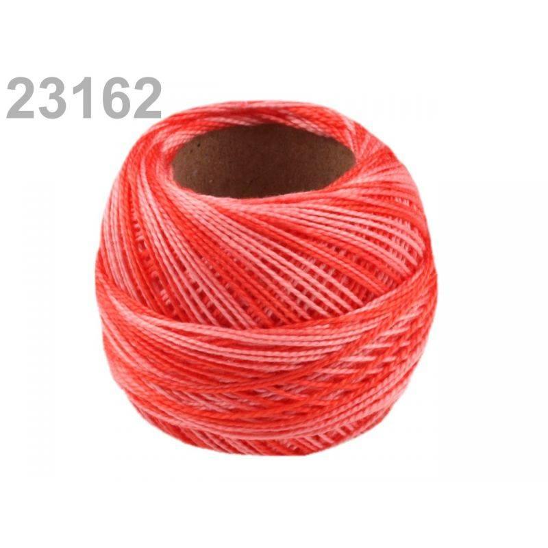 Butika.hu hobby webáruház - Hímzőcérna Cotton Perle Nitarna - policolor, 290019, 23162, corallo