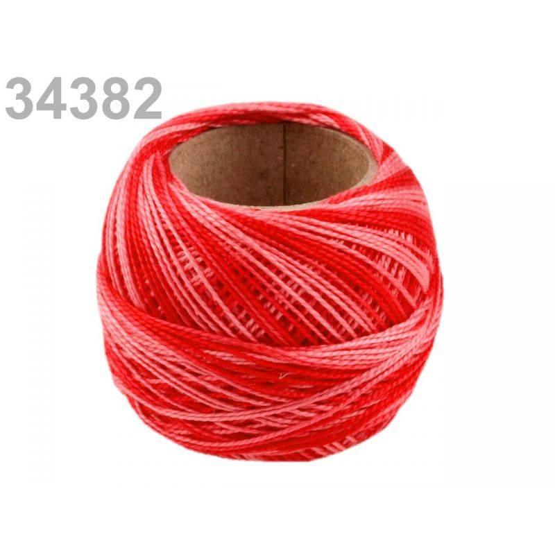 Butika.hu hobby webáruház - Hímzőcérna Cotton Perle Nitarna - policolor, 290019, 34382, chili pepper